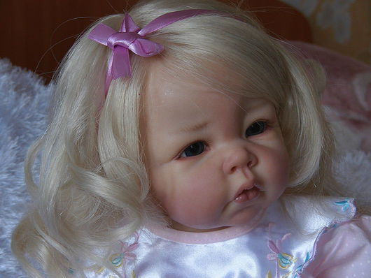 Куклы-младенцы и reborn ручной работы. Ярмарка Мастеров - ручная работа. Купить Вика. Handmade.