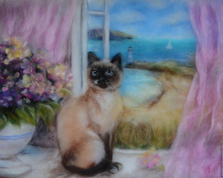 Макияж кошки мастер класс акварель пошагово #3