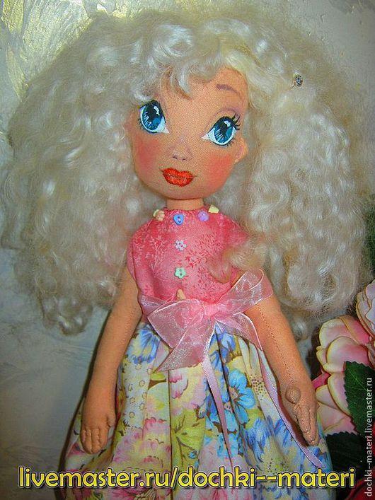 Коллекционные куклы ручной работы. Ярмарка Мастеров - ручная работа. Купить Куколка Малышка в летнем платье. Handmade. Белый