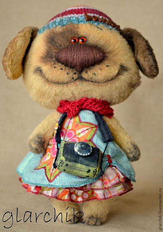 Мишки Тедди ручной работы. Ярмарка Мастеров - ручная работа. Купить Собаня Франя. Handmade. Авторская игрушка, собака игрушка