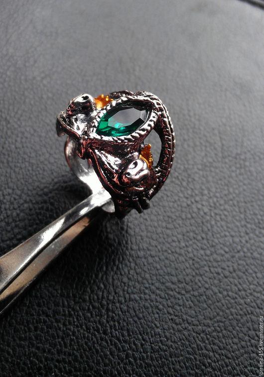 """Кольца ручной работы. Ярмарка Мастеров - ручная работа. Купить Кольцо Арагорна  из фильма """"Властелин Колец"""". Handmade. Зеленый"""