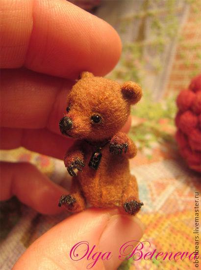 Мишки Тедди ручной работы. Ярмарка Мастеров - ручная работа. Купить Тоби. Handmade. Коричневый, опилки, мулине