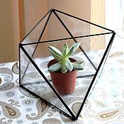 Цветы и флористика handmade. Livemaster - original item The Floriana, octahedron, vase for Floriana. Handmade.