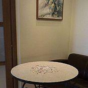 """Для дома и интерьера ручной работы. Ярмарка Мастеров - ручная работа Стол """" Цветок"""" керамика. Handmade."""