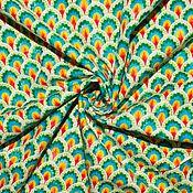 Ткани ручной работы. Ярмарка Мастеров - ручная работа 1,5 метра Американский хлопок РУССКОЕ ЗОЛОТО. Handmade.