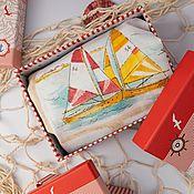 Мужская одежда handmade. Livemaster - original item Briefs for men. Funny gift for February 23. Sea. Handmade.