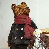 Куклы и игрушки handmade. Livemaster - original item Teddy bear Misha and Masha doll.. Handmade.