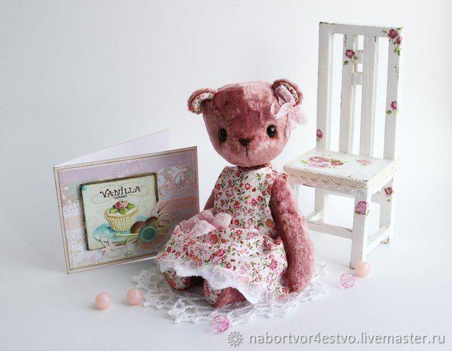Набор для шитья купить, набор доя шитья игрушек, наборы для шитья мягких игрушек, наборы для создания игрушек, мастер класс мишка тедди, мастер класс мишка, мастер класс медведь, набор для шитья тедд