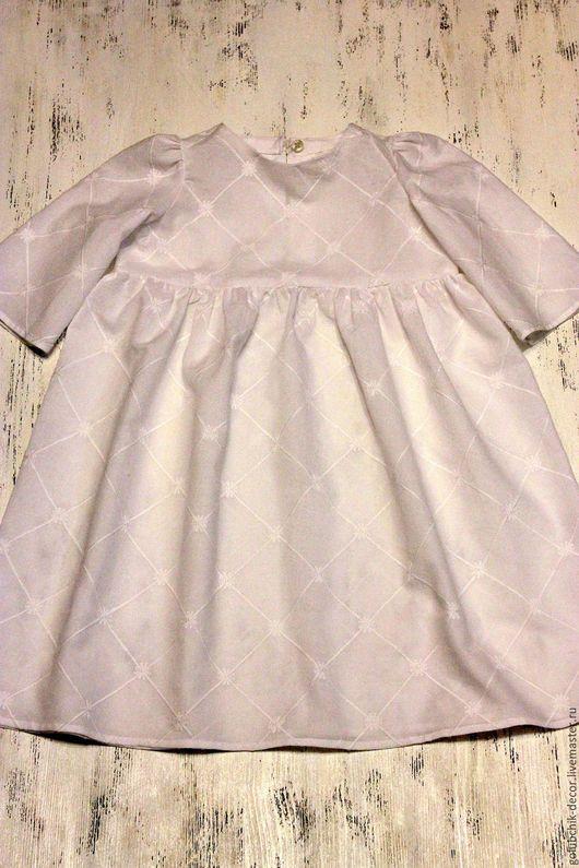 Одежда для девочек, ручной работы. Ярмарка Мастеров - ручная работа. Купить Крестильное платье. Handmade. Белый, Крестины, крестильное
