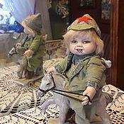 Будуарная кукла ручной работы. Ярмарка Мастеров - ручная работа Будуарная кукла:  Ангел с лошадкой Авторская кукла. Handmade.
