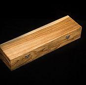 Сувениры и подарки handmade. Livemaster - original item Box knife solid oak. Handmade.