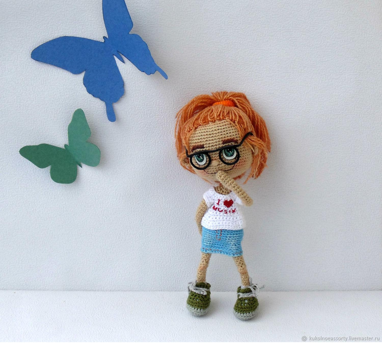 Вязаные портретные  куклы, Портретная кукла, Североуральск,  Фото №1
