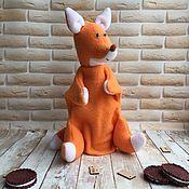 Кукольный театр ручной работы. Ярмарка Мастеров - ручная работа Лисёнок - ручная марионетка (перчаточная кукла). Handmade.