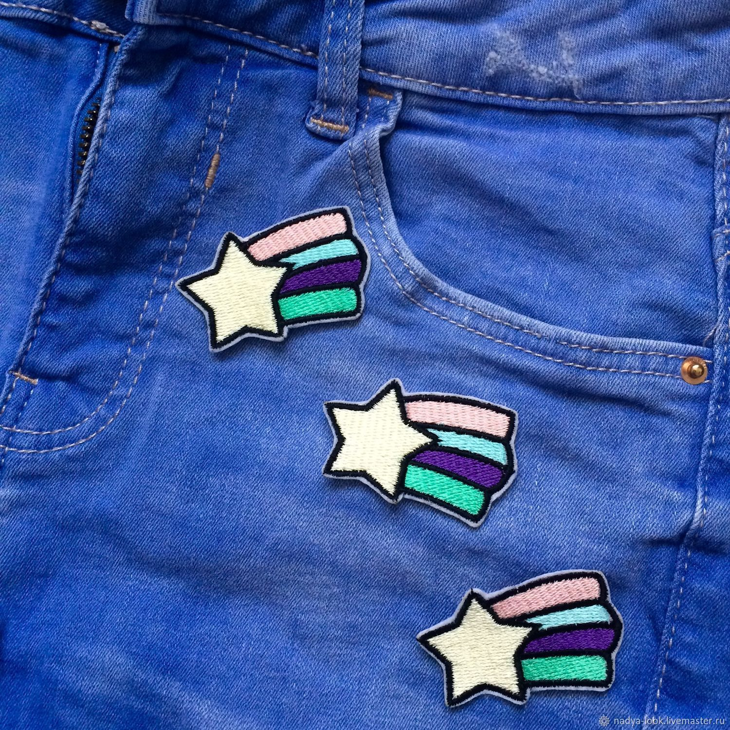 The patch is 'star', Brooches, Omsk,  Фото №1
