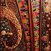Для дома и интерьера ручной работы. Ярмарка Мастеров - ручная работа Объёмный декор дверей и других поверхностей). Handmade.
