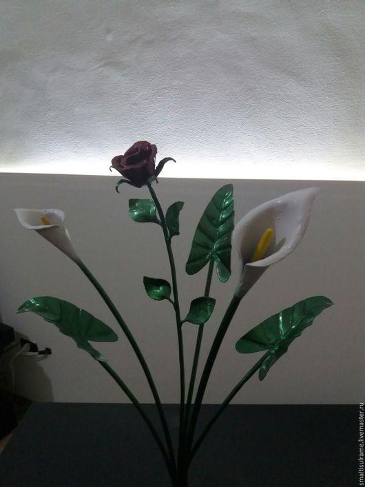 Статуэтки ручной работы. Ярмарка Мастеров - ручная работа. Купить Букет декоративный. Handmade. Комбинированный, искусственные цветы, интерьер