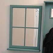 Для дома и интерьера ручной работы. Ярмарка Мастеров - ручная работа Зеркало - окно. Handmade.