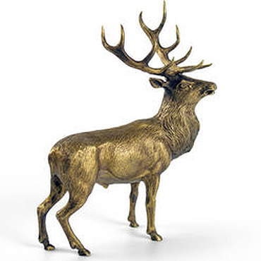 Для дома и интерьера ручной работы. Ярмарка Мастеров - ручная работа Благородный олень. Handmade.