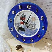 Для дома и интерьера handmade. Livemaster - original item Wall clock for children`s