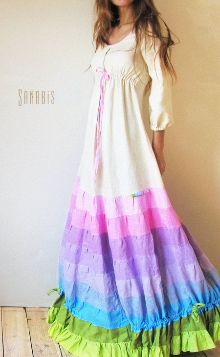 8cf465f514947ea Свадебное платье из льна – купить в интернет-магазине на Ярмарке ...