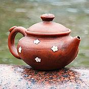 """Посуда ручной работы. Ярмарка Мастеров - ручная работа Чайник восточный на 500 мл """"Ромашка"""". Handmade."""