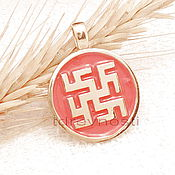 Фен-шуй и эзотерика handmade. Livemaster - original item The fern flower Slavic amulet charms enamel. Handmade.