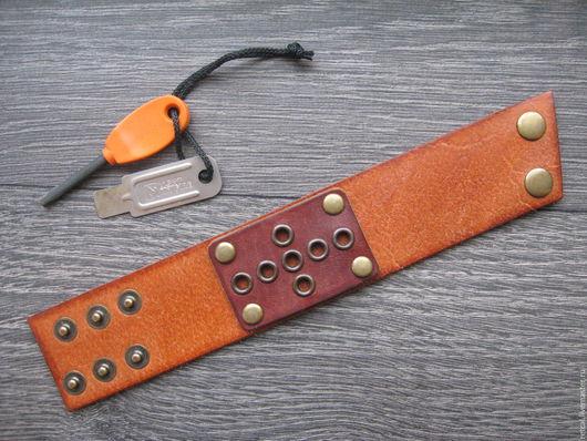 Браслеты ручной работы. Ярмарка Мастеров - ручная работа. Купить Кожаный браслет Recon. Handmade. Кожаный браслет, кожа