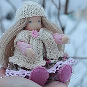 Вальдорфские куклы и звери ручной работы. Ярмарка Мастеров - ручная работа Вальдорфская каркасная кукла Лилечка. Handmade.