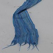 """Аксессуары ручной работы. Ярмарка Мастеров - ручная работа Шарф """"Небесно голубой"""". Handmade."""