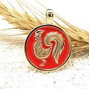 handmade. Livemaster - original item Pendant,Cock pendant-symbol of New Goda2017. Handmade.
