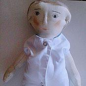 Куклы и игрушки ручной работы. Ярмарка Мастеров - ручная работа Кукла Доктор. Handmade.