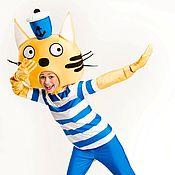 Одежда handmade. Livemaster - original item Animator costume sailor cat. Handmade.