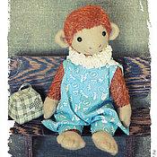 Куклы и игрушки ручной работы. Ярмарка Мастеров - ручная работа обезьянка даша. Handmade.