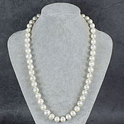Работы для детей, handmade. Livemaster - original item 57 cm Beads Natural River Pearls. Handmade.