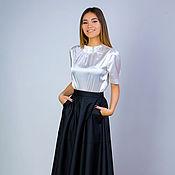 Одежда handmade. Livemaster - original item Skirt leatherette