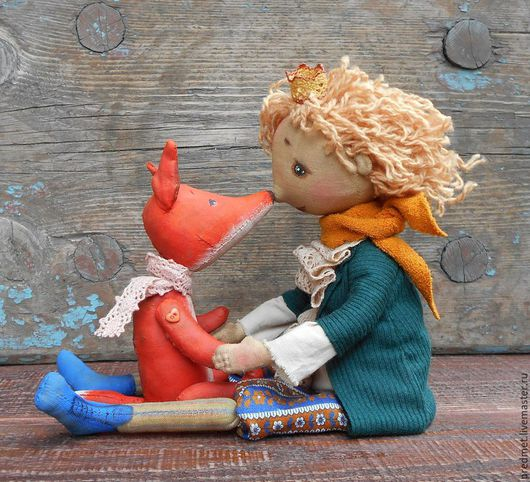Коллекционные куклы ручной работы. Ярмарка Мастеров - ручная работа. Купить Маленький принц. Handmade. Маленький принц, интерьерная кукла
