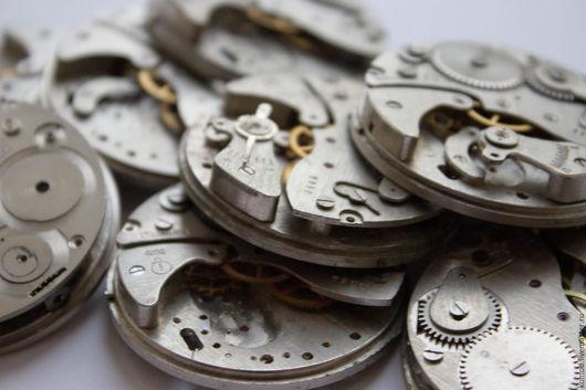 """Для украшений ручной работы. Ярмарка Мастеров - ручная работа. Купить Часовые механизмы """"Фортуна"""" диаметр 25 мм. Handmade."""