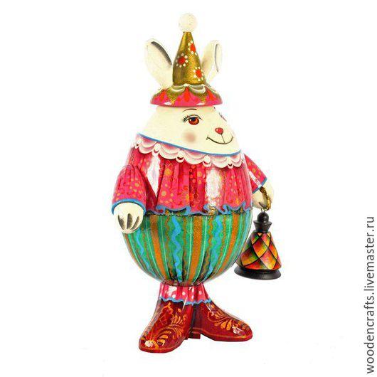 Подарки на Пасху ручной работы. Ярмарка Мастеров - ручная работа. Купить Пасхальный заяц - шкатулка. Handmade. Комбинированный, подарок ребенку