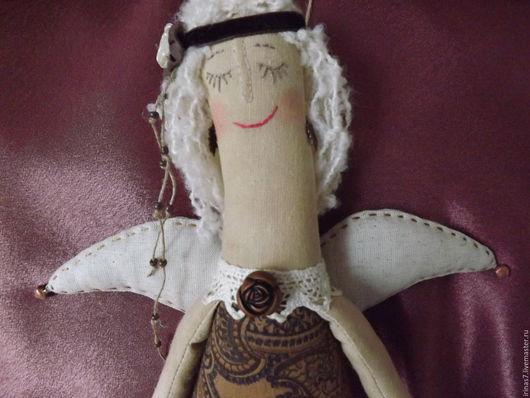 Коллекционные куклы ручной работы. Ярмарка Мастеров - ручная работа. Купить Тереза. Бохо-ангел. Handmade. Ангел, интерьерная кукла