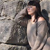 Одежда handmade. Livemaster - original item Spring-summer boho sweater