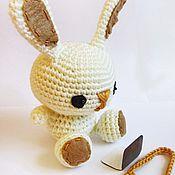 Куклы и игрушки ручной работы. Ярмарка Мастеров - ручная работа амигуруми Зайка. Handmade.