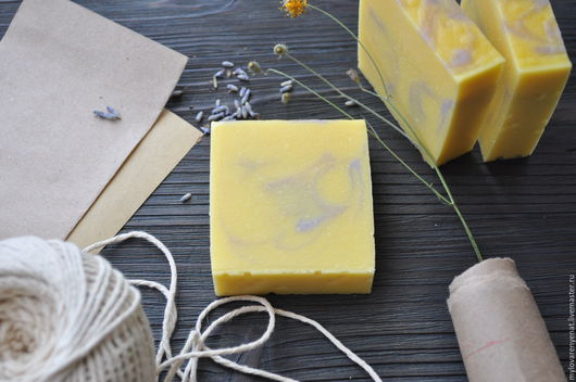"""Мыло ручной работы. Ярмарка Мастеров - ручная работа. Купить Мыло """"Дуналиелла"""" (повтор). Handmade. Ярко-красный, радуга"""