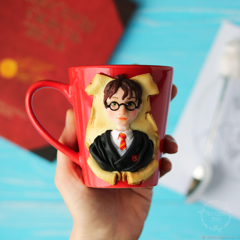 """Кружки и чашки ручной работы. Ярмарка Мастеров - ручная работа. Купить Кружка """"Гарри Поттер"""". Handmade. Гарри Поттер, Гермиона"""