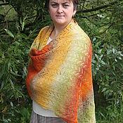 """Одежда ручной работы. Ярмарка Мастеров - ручная работа пончо """"Осень"""". Handmade."""
