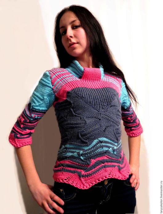 """Кофты и свитера ручной работы. Ярмарка Мастеров - ручная работа. Купить Свитер""""Мissonі"""". Handmade. Комбинированный, свитер женский, свитер с рисунком"""