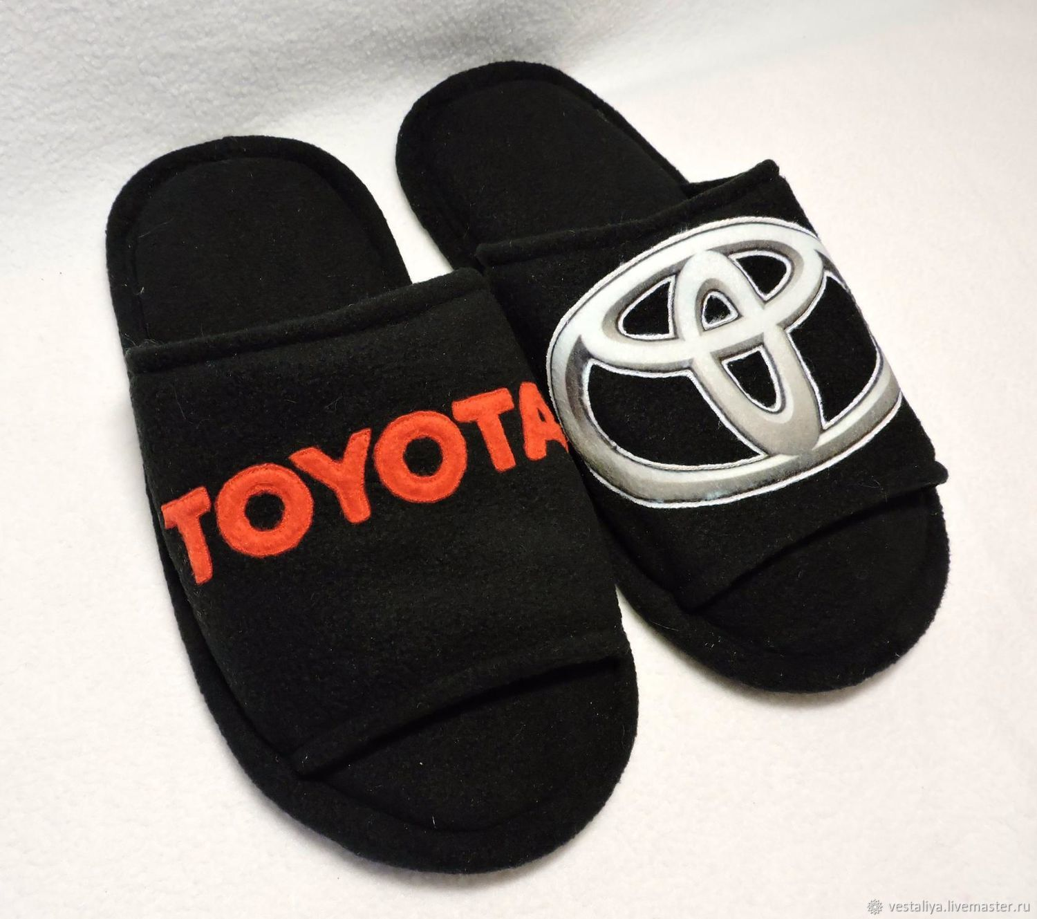 Slippers with photo printing and applique, Slippers, Novosibirsk,  Фото №1