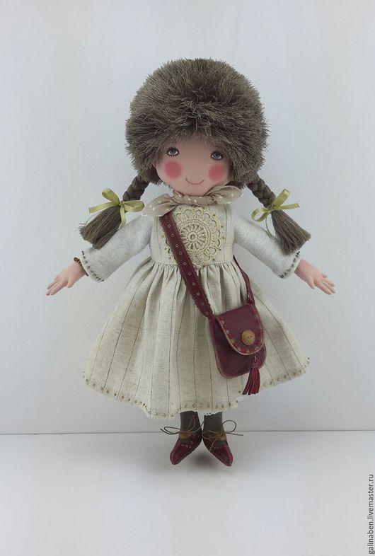 Коллекционные куклы ручной работы. Ярмарка Мастеров - ручная работа. Купить Текстильная кукла МИЛДА. Handmade. Текстильная кукла, текстильная