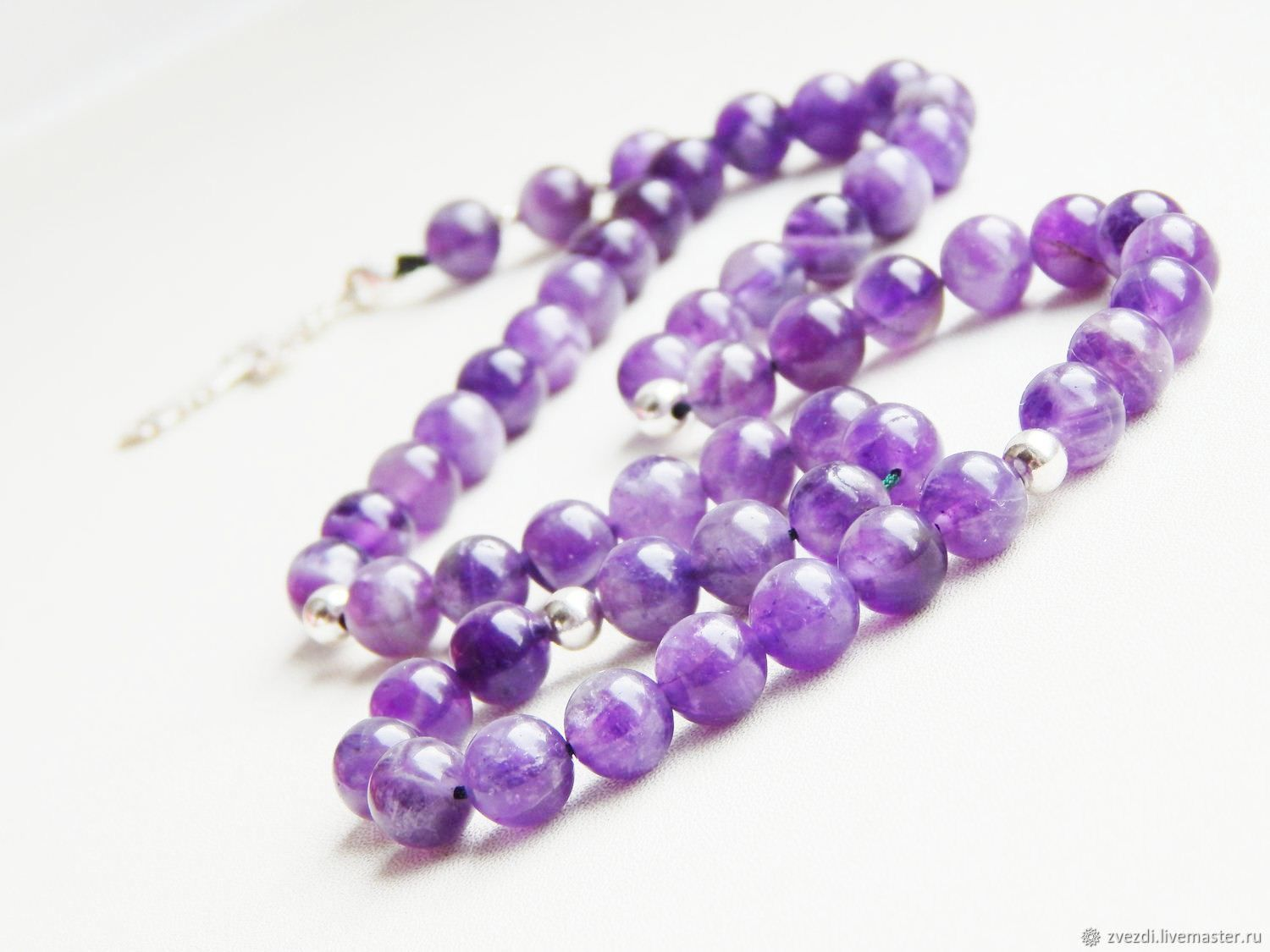 The rosary the prayer of the soul amethyst, Rosary, Minusinsk,  Фото №1