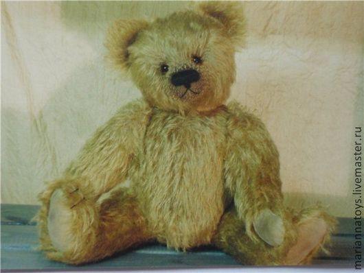 Мишки Тедди ручной работы. Ярмарка Мастеров - ручная работа. Купить Мишка. Handmade. Оливковый, мишка, миша, тедди, медведь