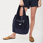 Сумки и аксессуары handmade. Livemaster - original item String Bag Leather Bag Bag Large Package String Bag Shopper T-Shirt Bag. Handmade.